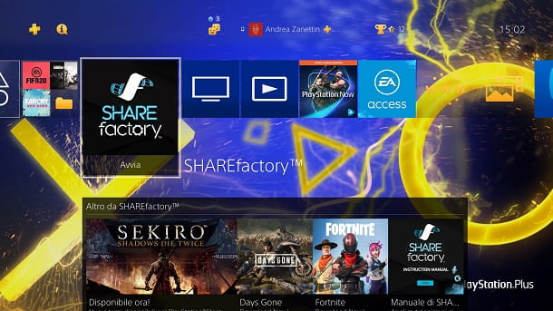 SHAREFactory PS4