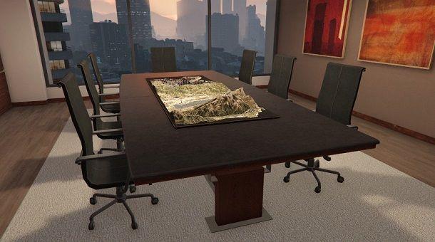Sala riunioni dell'ufficio di GTA Online