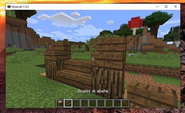 Scalini di abete 2 Minecraft