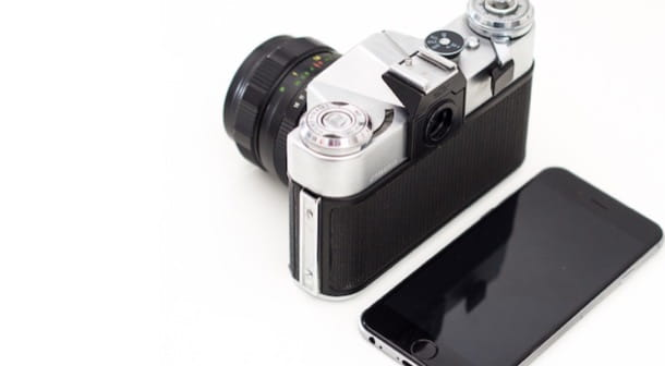Scegliere dispositivo con cui fotografare