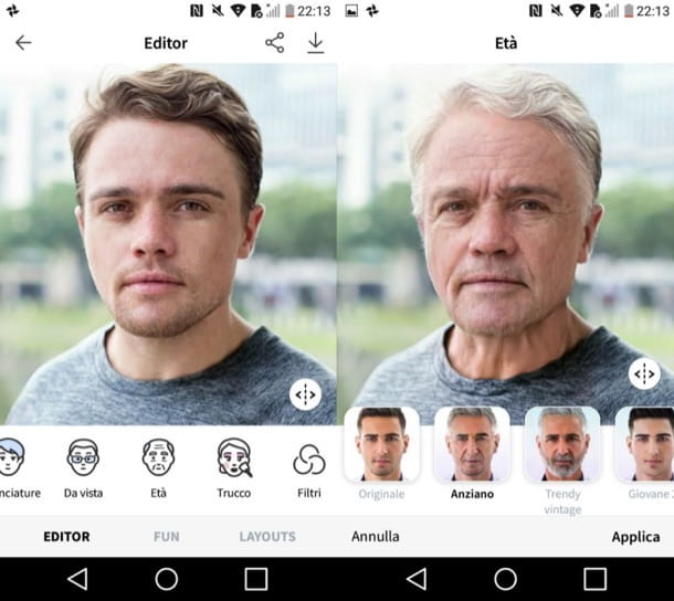 FaceApp (Android/iOS)