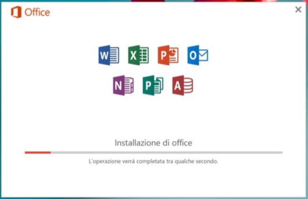 Installazione Office 365