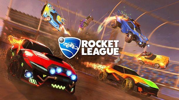 Schermata caricamento Rocket League