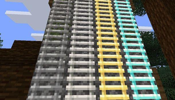 Speedy Ladders per Minecraft