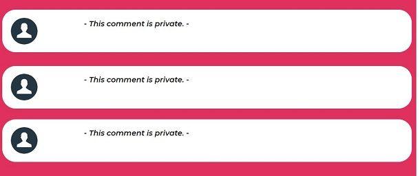 This Crush commenti privati