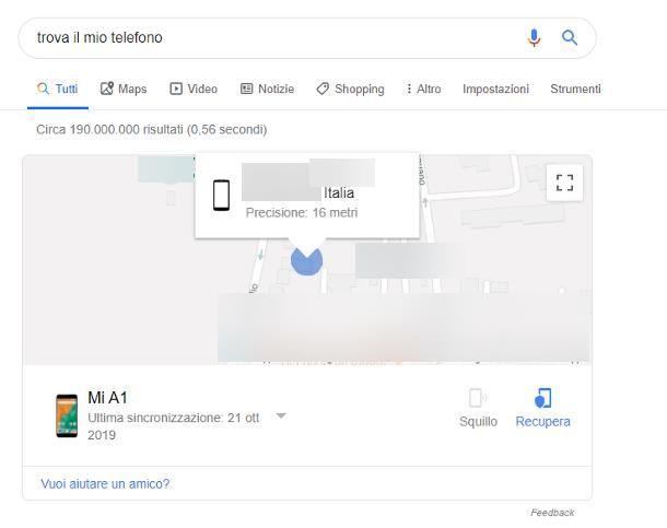 Come localizzare un cellulare con Google Maps
