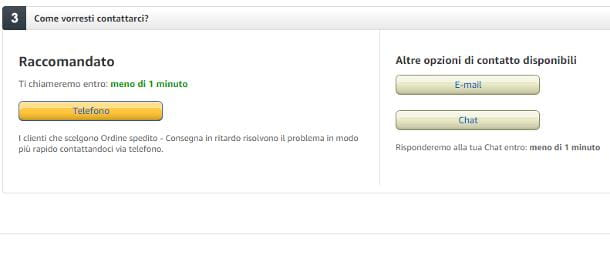 Problemi con acquisti Amazon