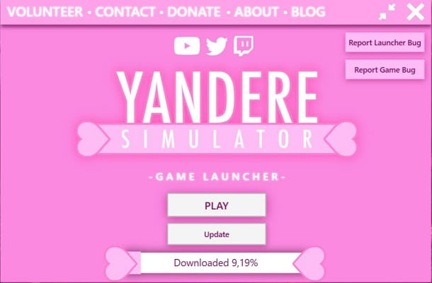 Yandere Simulator client