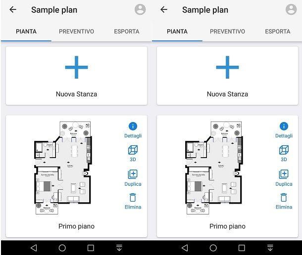 Misurare casa con l'app Magicplan