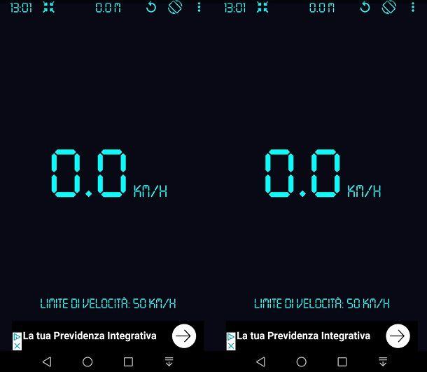 GPS Tachimetro per misurare velocità