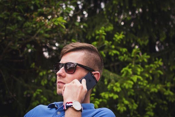 Telefonare con iPhone