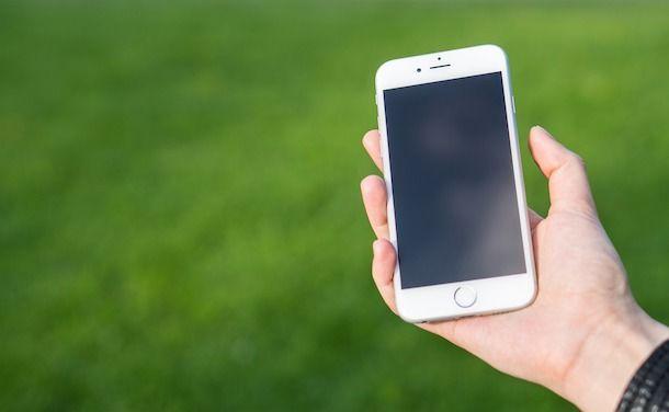 iPhone schermo nero