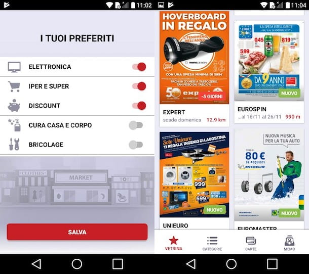 App per fare la spesa risparmiando