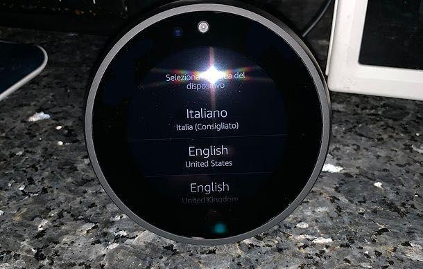 Come configurare Alexa Echo