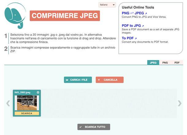 Compress JPG