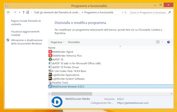 WebDiscover Windows 8
