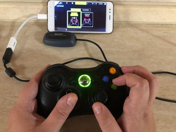 Come collegare il joystick Xbox 360 al telefono senza fili