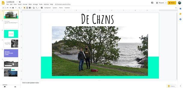 Creare un proprio template su Google Presentazioni