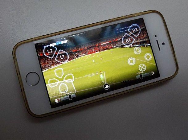 iPhone comandi PS4 Remote Play