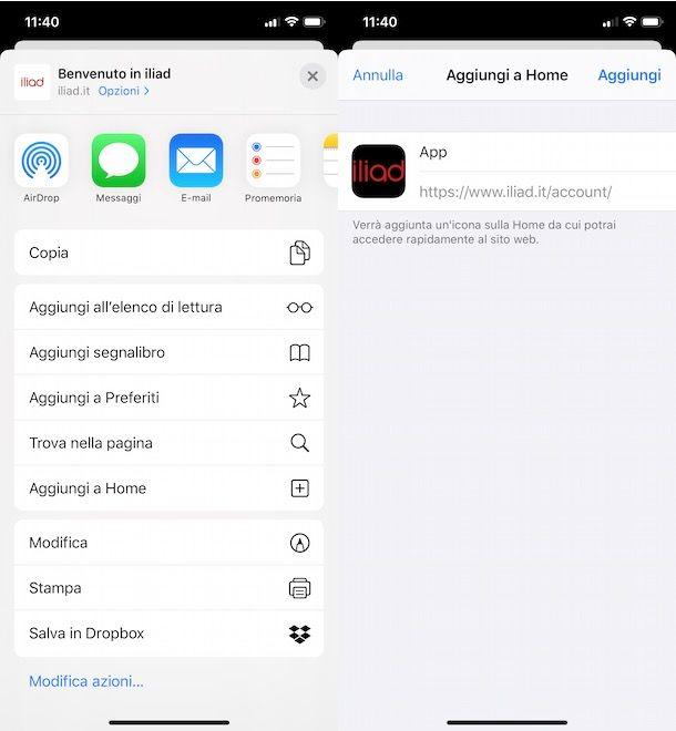 Come scaricare app Iliad su iPhone