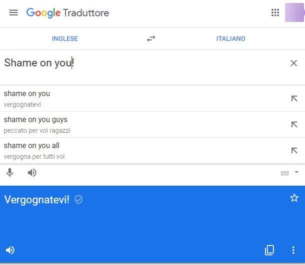 Siti per traduzioni in inglese