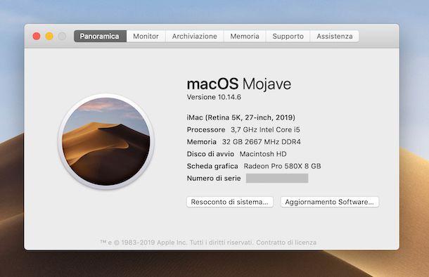 Informazioni iMac