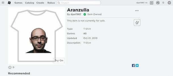 Creare vestiti personalizzati su Roblox