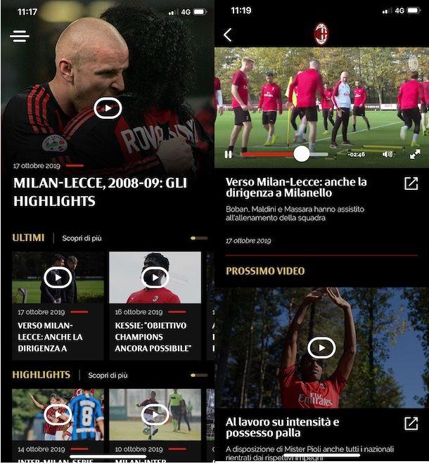 App Milan