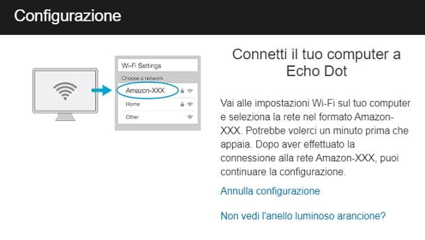 Come configurare Alexa da PC