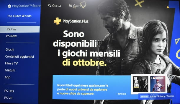 Procedere al download dei giochi mensili PS Plus