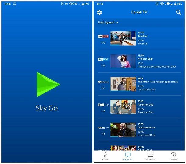 Come collegare Sky Q al cellulare