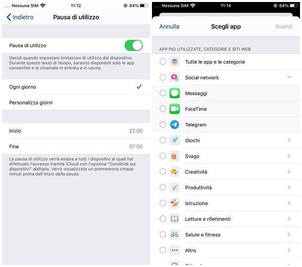 App per non usare il telefono iOS