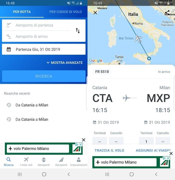 The Flight Tracker App