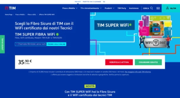 TIM Super Fibra Wi-Fi
