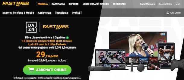 Fastweb Casa + DAZN