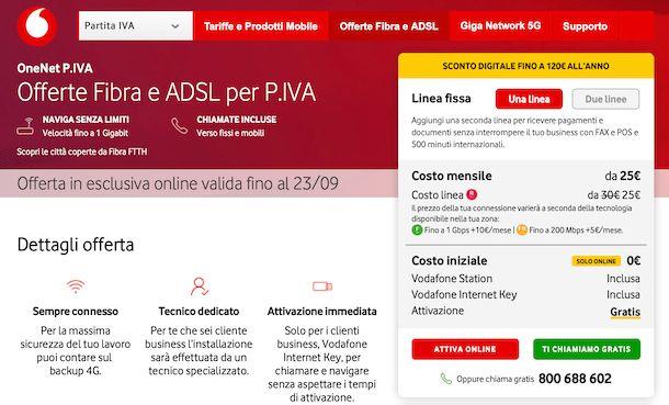 Offerte Vodafone business