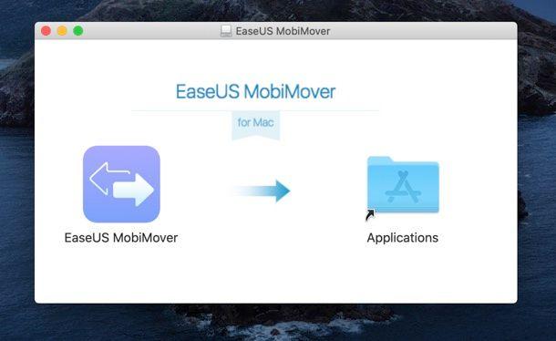 Installazione EaseUS MobiMover Mac