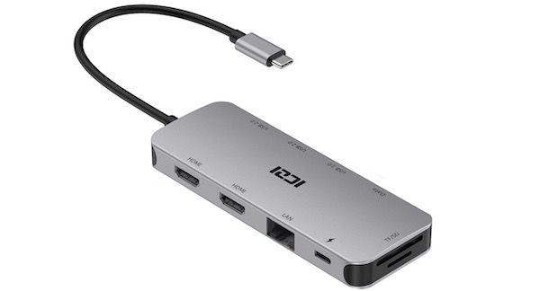 ICZI Hub USB-C 10-in-1