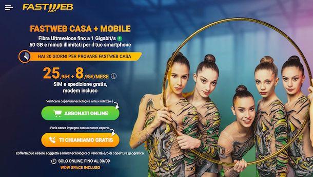 Fastweb Casa + Mobile