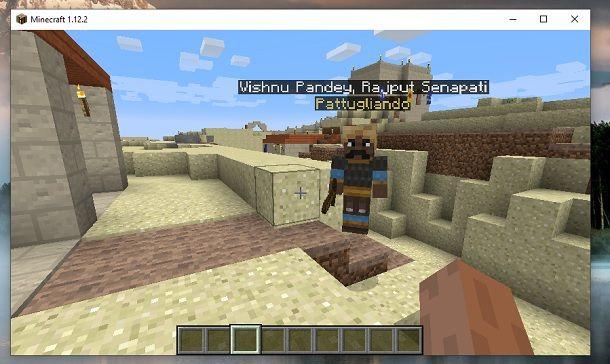 Abitante Millénaire Minecraft