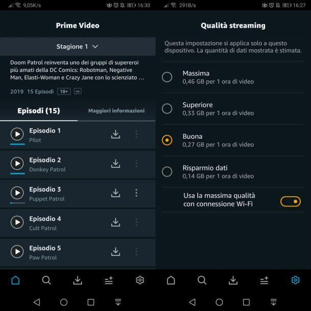 App Amazon Prime Video