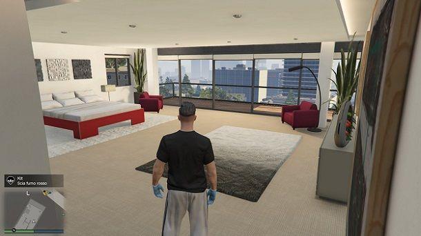 Appartamento Vinewood Hills GTA Online