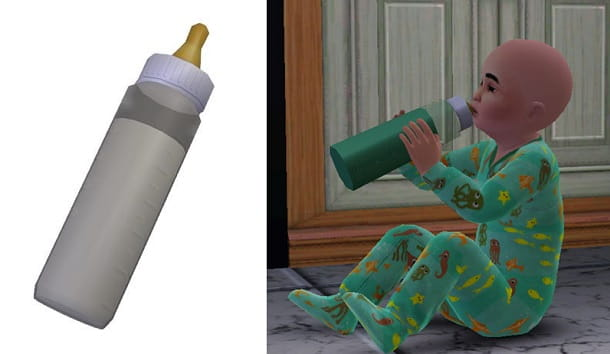 Baby Bottle Replacement The Sims 2