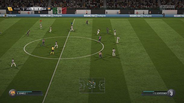 Calcio d'inizio FIFA