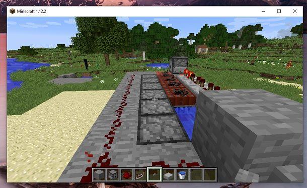 Cannone di TNT finito Minecraft