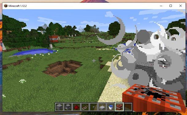 Come fare un cannone di TNT su Minecraft