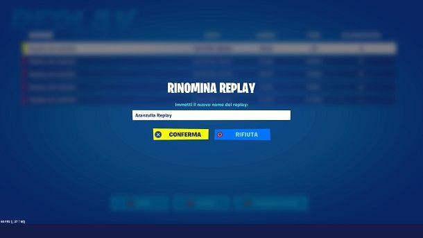 Come salvare i replay su Fortnite