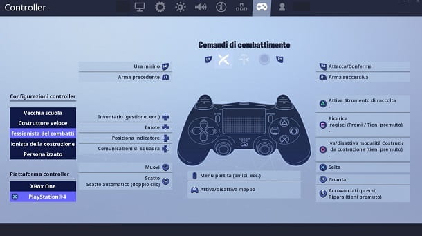 Controller PS4 Fortnite PC