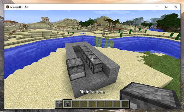Distributore Minecraft