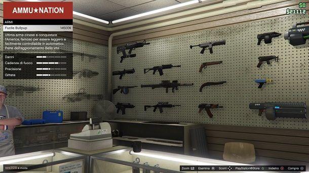 Fucile Bullpup GTA Online